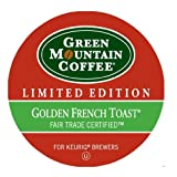 Green Mountain Coffee Golden French Toast,  K-Cup Portion Pack for Keurig K-Cup Brewers, 24-Count