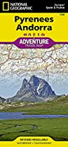 Pyrenees & Andorra adv. ng  r/v (r) wp (Adventure Map (Numbered))