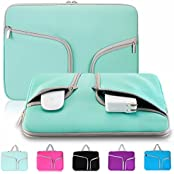 "Kitron-Neoprene Soft Sleeve Case For MacBook 12-inch & MacBook Air 11.6"" And Laptop Up To 12"" Ultrabook, Chromebook..."