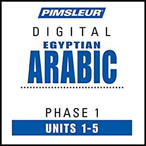 Arabic (Egy) Phase 1, Unit 01-05 Hörbuch
