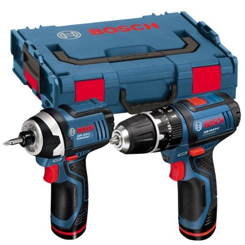 Bosch GSB 10.8-2 LI Combi Hammer Drill+GDR 10.8V-LI 10.8V Impact Driver Twinpack