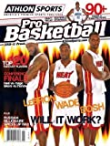 Lebron James unsigned 2010 Miami Heat Athlon Pro Basketball Annual Magazine at Amazon.com