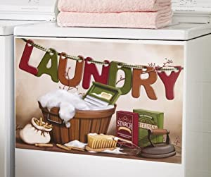 Oldtime Vintage Laundry Washer Cover By