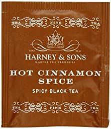 Harney & Sons Hot Cinnamon Spice Tea 100g / 3.57 oz (50 Tea Bags) Size: 1 pack Model: (Home & Kitchen)