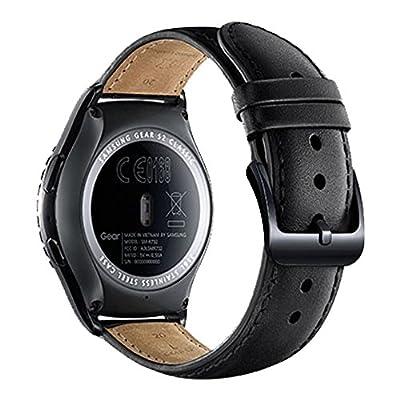 Samsung Gear S2 Classic SM-R7320 Smart Watch, Black