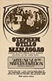 Stephen Stills and Manassas Maples Pavilion Concert 1972 - Aluminium Wall Art 15 x 20cms