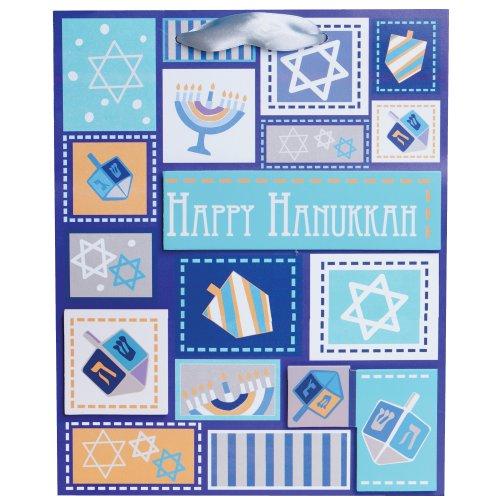 Jillson Roberts Hanukkah, Large Gift Bags, Hanukkah Memories, 6-Count