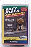 Easy Rider Car Extra Small Harness for Dogs, Black