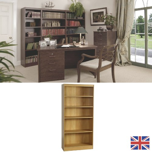 Home Office Furniture - Bookcase - Walnut - Wood