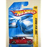 2007 New Models -#20 Chevy Silverado Red #2007-20 Collectible Collector Car Mattel Hot Wheels