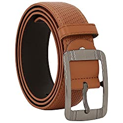 Comfort Zone India Tan Linked Design Men's Belt