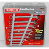 Craftsman 9 pc. Metric 12 pt. Combination Wrench Set, # 47045