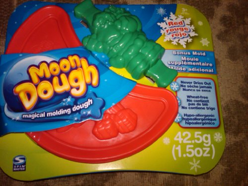 Moon Dough Spin Master Moon Dough Dark Red with Bonus Santa Mold 1.5oz at Sears.com