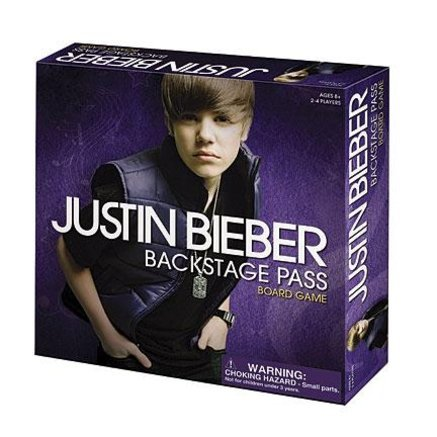 Justin Bieber Backstage Pass Game