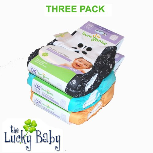 Freetime (Velcro) Aio Diaper With Stay Dry Liners front-720819