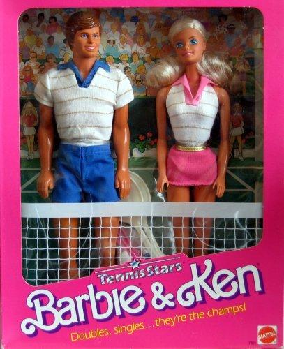 Vintage Barbie & Ken Tennis Stars Puppen W Tennis Zubehör (1988MATTEL Hawthorne) jetzt kaufen