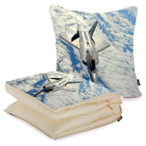 i-famuray-almohada-y-manta-decorativa-sofs-2-in-1-lockheed-martin-raptor-above-the-fluffy-clouds
