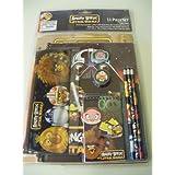 Angry Birds Star Wars 11 Piece Stationary School Supplies Set
