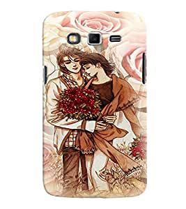 Fuson Premium Made For Each Other Printed Hard Plastic Back Case Cover for Samsung Galaxy Grand 2 G7102 G7106
