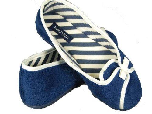Cheap Women's Nautica Slippers (B002AME2V4)