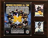 NCAA Football Michigan Wolverines All-Time Greats Photo Plaque at Amazon.com