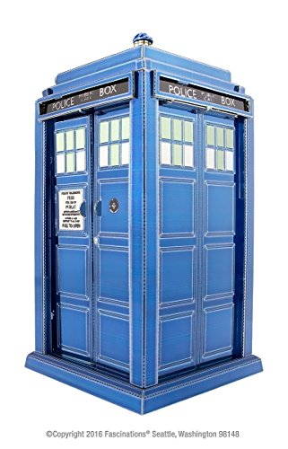 Fascinations Metal Earth Doctor Who Tardis 3D Laser Cut Model - Blue (Model Earth compare prices)