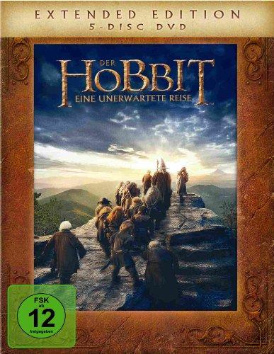 Der Hobbit: Eine unerwartete Reise - Extended Edition (5 Discs)