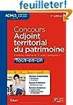 Concours Adjoint territorial du patri...