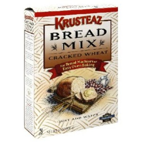 Krusteaz Cracked Wheat Bread Mix, 14-Ounce (Pack of 6)