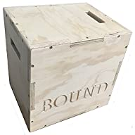 BOUND© 3 in 1 Wood Puzzle Plyometric Box – Great for CrossFit Training, MMA, or Plyometric…
