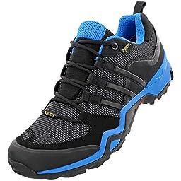 Adidas Outdoor Terrex Fast X GTX Hiking Shoe - Men\'s Dark Grey/Black/Vista Grey, 10.0