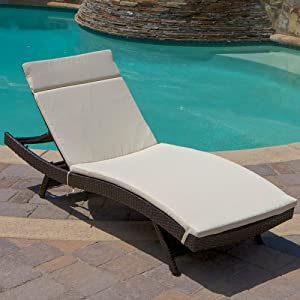 Outdoor Chaise Lounge With Cushion Patio Lounge Chairs Patio