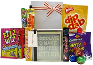 Get Well Soon Treat Box - a get well gift to cheer up the patient!
