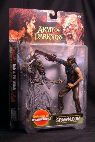 Picture of McFarlane Army of Darkness: Ash and Pit Witch 2-pack Action Figure (B001BGA1H4) (McFarlane Action Figures)