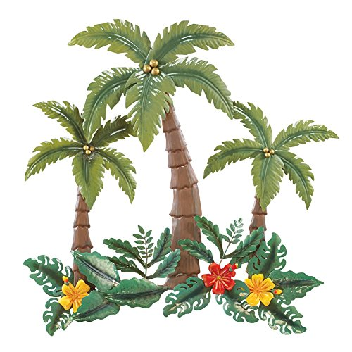 3-Dimensional-Palms-Trees-Tropical-Wall-Art