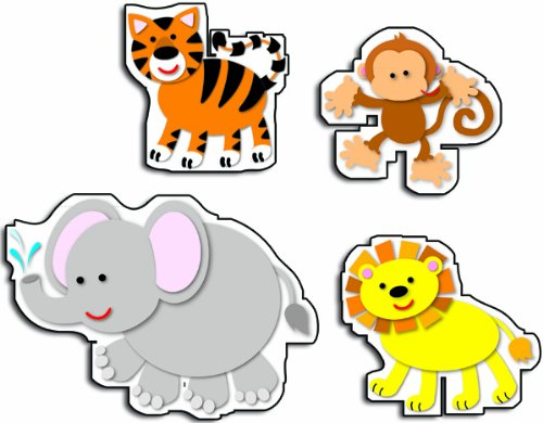 Carson Dellosa Animals Stickers (168094)