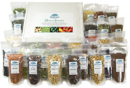 Harmony House Foods Deluxe Sampler (30 Count, ZIP Pouches) (Harmony House Backpacking Kit compare prices)