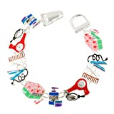 Hair Styling Theme Charm Magnetic Bracelet