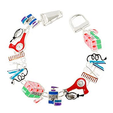 Hair Styling ThemeCharm Magnetic Closure Bracelet