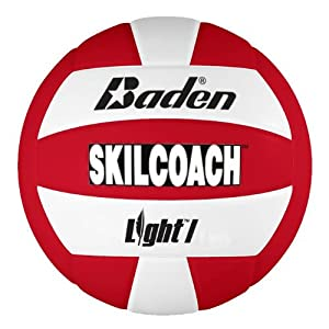Buy Baden SkilCoach Light Oversized Synthetic Lightweight Training Volleyball, Optic Yellow by Baden