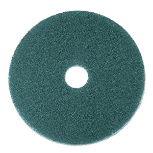 Cleaner Floor Pad 5300, 17'', Blue, 5/Carton