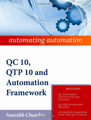Qc 10, Qtp 10 And Automation Framework: Automating Automation