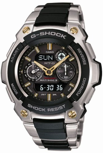 CASIO (カシオ) 腕時計 G-SHOCK MT-G TOUGH MVT タフムーブメント タフソーラー 電波時計 MULTIBAND6 MTG-1500-9AJF