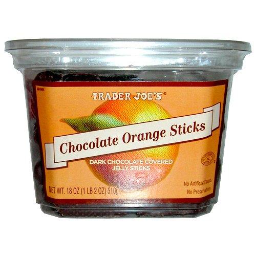 Chocolate Orange Sticks
