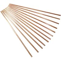 Dakshcraft ® Set Of 12 - Solid Copper Drinking Straw For Beer, Cups/Mugs And Cocktail Glasses, Vodka Beer Bar...