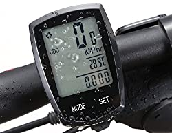 Wireless Bicycle computer Arova Waterproof Bike Speedometer Odometer LCD Backlight Displays-22 Function Bicycle Cyclocomputer: Track Cycling Distance, Speed, Calories by YL-UNITE