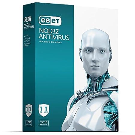 ESET NOD32 Antivirus 1U 1Y 2016