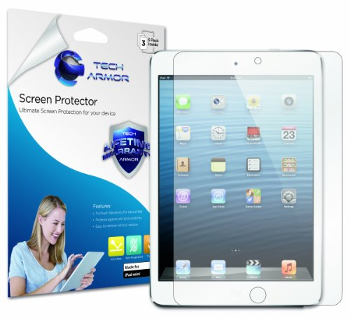 Learn More About Tech Armor Anti-Glare & Anti-Fingerprint (Matte) Screen Protector with Lifetime Rep...