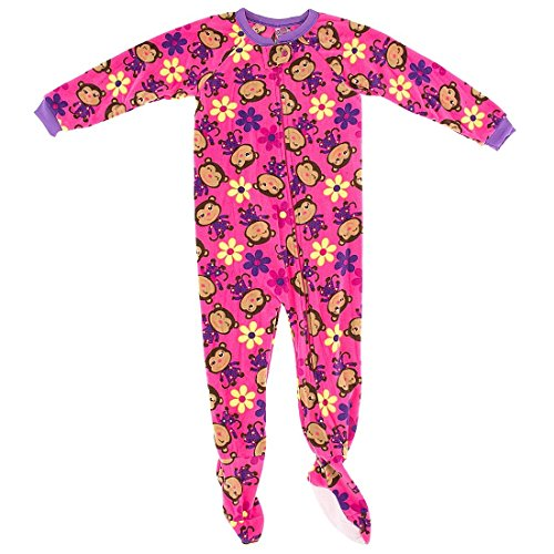 Kids Pajamas With Feet front-846476