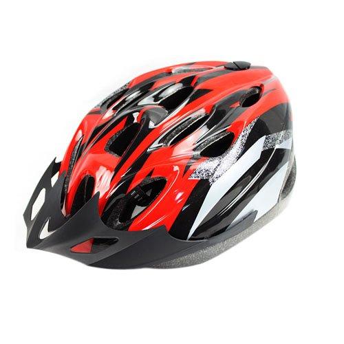 Bicycle Helmet Red with Black